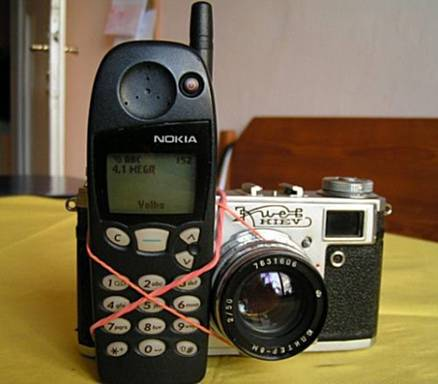 Nokia Phone with Camera